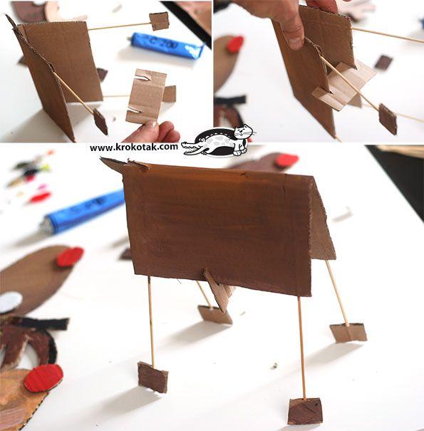 Cardboard Christmas Activities