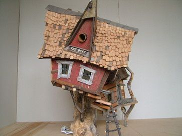 crooked creations - eclectic - birdhouses - denver - crooked creations
