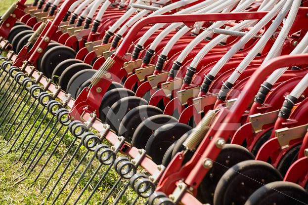 Qdiz Stock Photos | Hay rake farm machinery equipment,  #agriculture #Circle #circular #collecting #country #countryside #equipment #farm #farmland #gather #hay #implement #industry #machine #machinery #new #rake #raking #rotary #round #seasonal #side #spokes #technology #tines #tool #wheels #work