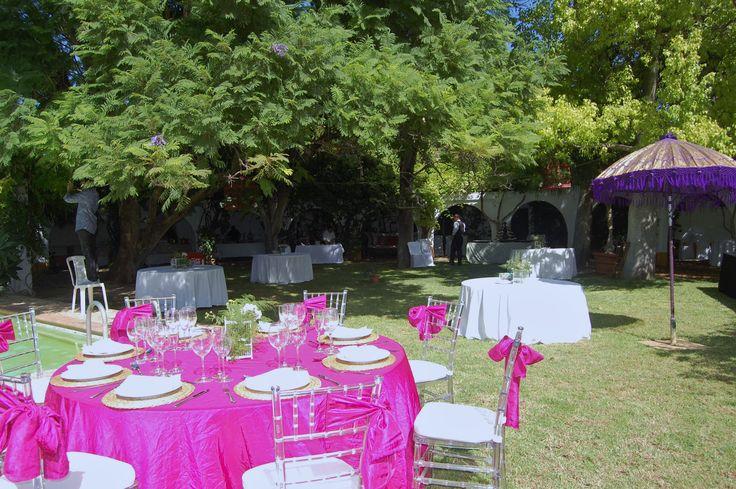 Decoraci n de mesas para eventos catering haciendas - Decoracion sevilla ...