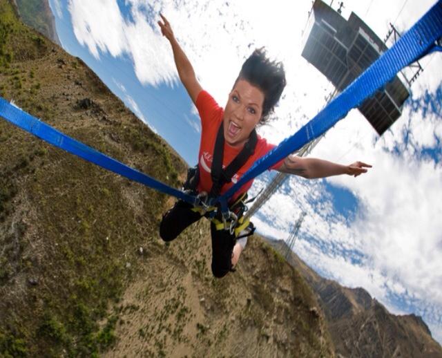 AJ Hackett Nevis Bungy Swing Queenstown New Zealand #travel #NewZealand #photography #NZ #fun #bungy #freefall #swing