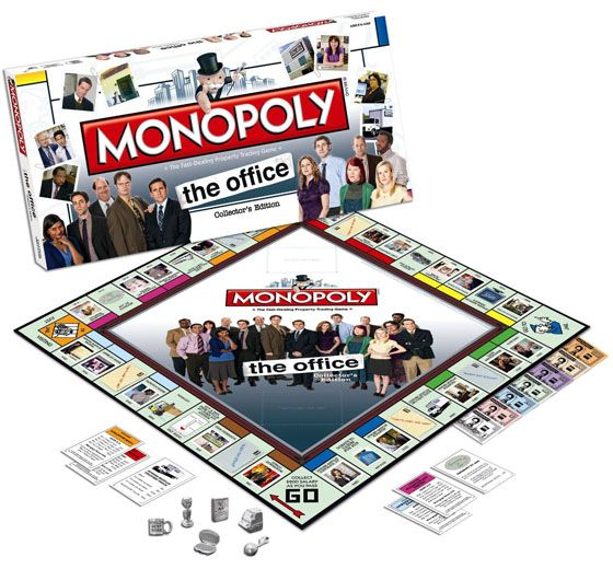 The Office Monopoly. looks like i just found my new fave drinking game.