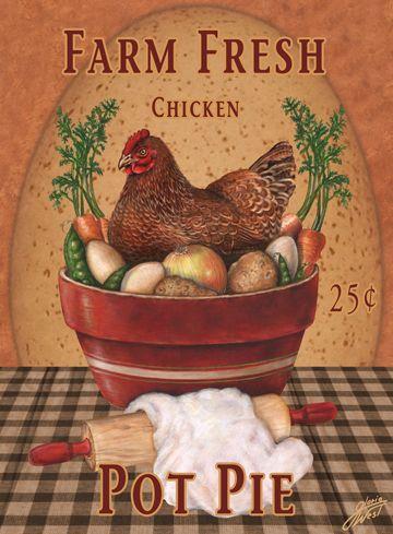 Gloria West / Chicken Pot Pie