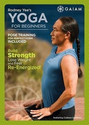 Rodney Yee's Yoga for Beginners DVD Region 1 in DVDs & Movies,DVDs &…