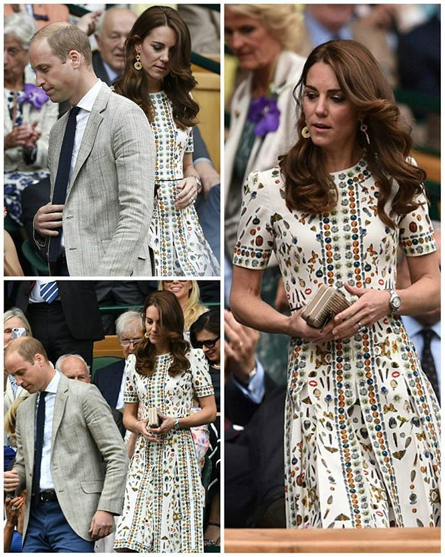 Kate Joined Guests For Tea On The Balcony 7 16 Day 10 Of Wimbledon Pinterest Balconies Princess Charlotte And Cambridge