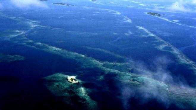 El secreto del colapso de la civilización Maya, escrito en las aguas de Belice.