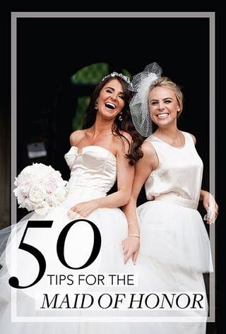 Wedding Tips for the Maid of Honor   Brides.com