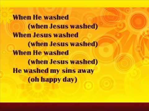 Oh Happy Day - gospel lyrics (...been praying for my kitty cat to be healed and am now seeing signs of it and when I came to get on the computer just now this song popped in my head, so I had to look it up! Thank You Jesus! <3 )