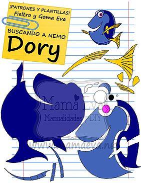 Plantillas Películas Disney Buscando a Nemo