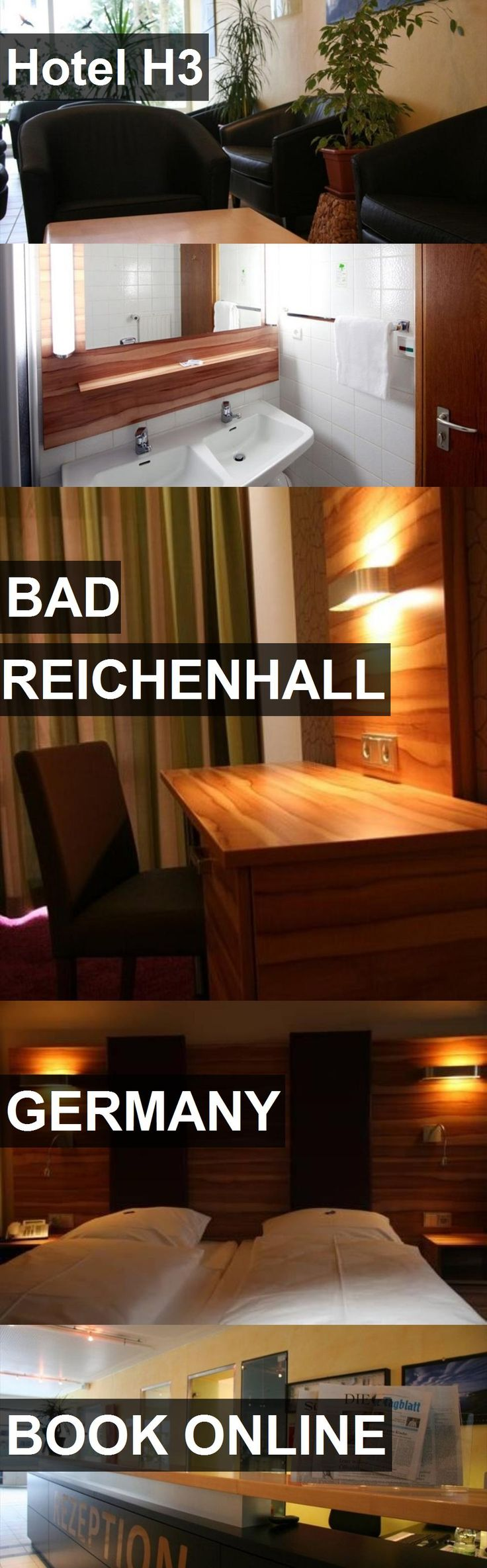 Hotel H3 in Bad Reichenhall, Germany. For more information, photos, reviews and best prices please follow the link. #Germany #BadReichenhall #travel #vacation #hotel