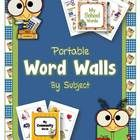 This set of Portable word walls will provide students with a great resource for vocabulary words.  Students can simply pick up the file folder and ...