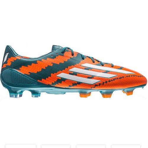 adidas Messi 10.1 FG - Power Teal/Orange - $229.99