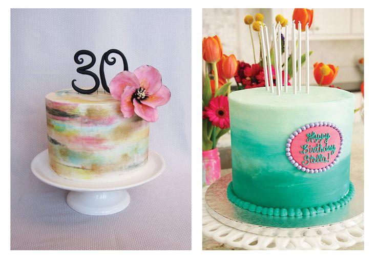 Dolci sfumature di colore: la torta acquerello sulle nostre tavole