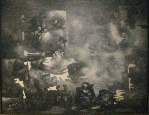 """Richard Oelze: """"Vorvergangenheit"""" (1956-58)"""