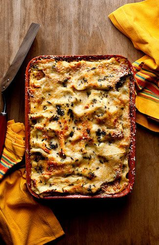 Recipe: Lasagna With Roasted Kabocha Squash || Photo: Andrew Scrivani for The New York Times
