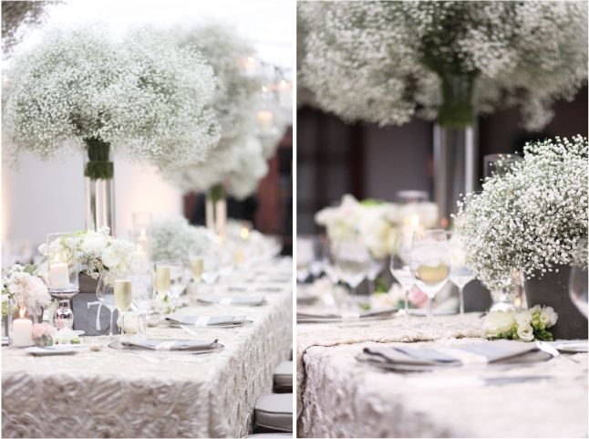 Wedding Trends} : Baby's Breath - Part 2 by Belle The Magazine
