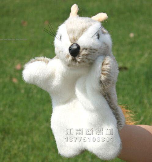 История игрушек 1 шт. 26 см мультфильм полевка полевая мышь куклы-марионетки спящего успокоить развивающие игры раннее образование младенческой подарок