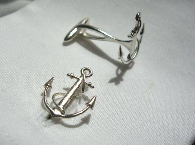 Anchor Cufflinks. CufflinksAnchorsPeacoatsCabinet HardwareNauticalBronze