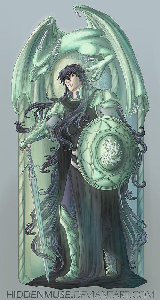 Shiryu Lord of Dragon. Saint Seiya.