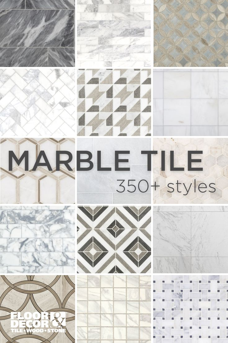 Shop 350 Styles Of Marble From Floor Decor Floor Decor Flooring Diy Bathroom Decor