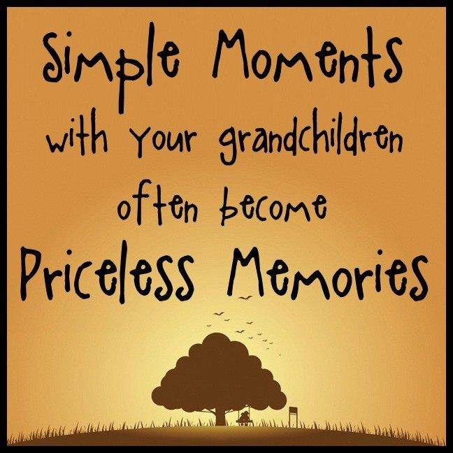 Every moment is priceless with my grandkids...I love ALL of them.