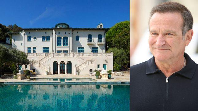 Le vignoble de Robin Williams   CHEZ SOI Photo: ©toptenrealestatedeals.com   iStock #deco #maisondestar #maisondereve #robinwilliams #napa #californie #villa #luxe
