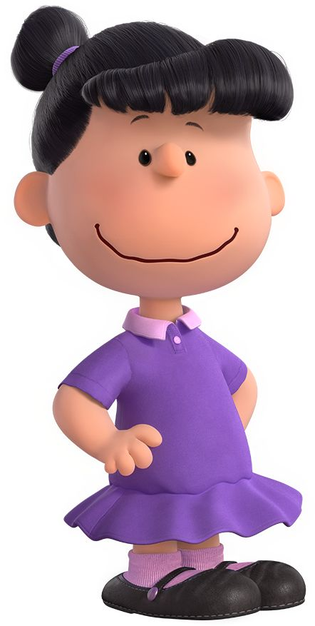Conocida por el barrio (y por su hermano pequeño, Linus ) por ser malhumorada y mandona , Lucy a menudo la puedes encontrar en su cabina  psiquiatrica de 5 centavos, tirando de la  manta de seguridad de Linus, o humillando a Charlie Brown. La  única debilidad de Lucy es su amor no correspondido por  el pianista Schroeder.