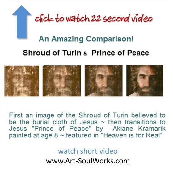 Key Revelation About Akiane's Prince of Peace Painting Revealed on the Katie Couric Show