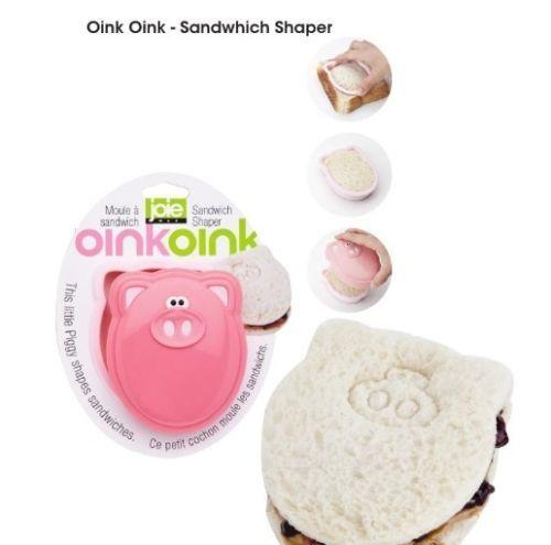New Msc Joie 78951 Oink Oink Piggy Sandwich Shaper