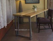 Американский кантри , чтобы сделать старый ретро стол, Из кованого железа стол офисный стол компьютерный стол минималистский экспорт(China (Mainland))