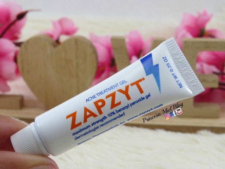Zapzyt, tratamiento para el acné, gel para espinillas, gel de peróxido de benzoilo, princesa miel blog, reseña, crema contra las espinillas
