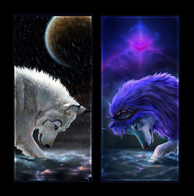 45 best images about wolf art on pinterest for Cool fantasy drawings