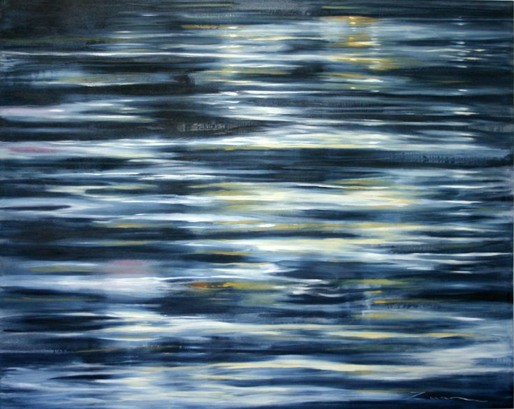 Moonlight Reflected - Painting by Zaan Claasens | StateoftheArt.co.za
