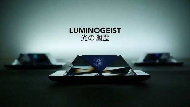 A digital media art installation presented at IDAS (Hongik University) as the final phase of my thesis project, Lumino Kinetic and Beyond(https://vimeo.com/55895992).   As a follow-up to the previous experimentation, Luminous Specimen (https://vimeo.com/45776245), this subsequent project, Luminogeist, concentrates on the development of an installation art, which glass prisms and 3D animation interact on ipods, based on an illusionary technique, Pepper's Ghost. ...