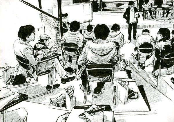2011 sketchbook is the second sketchbook produced by Kim Jung Gi. www.kimjunggius.com