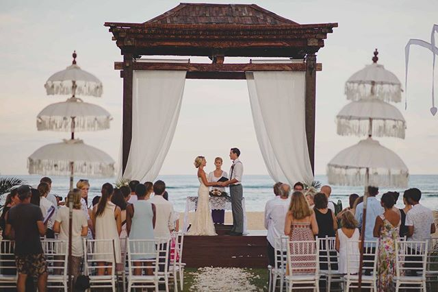 WEBSTA @ botanicaweddings - The ceremony pavilion at our Perfect Beach wedding location #BotanicaWeddings