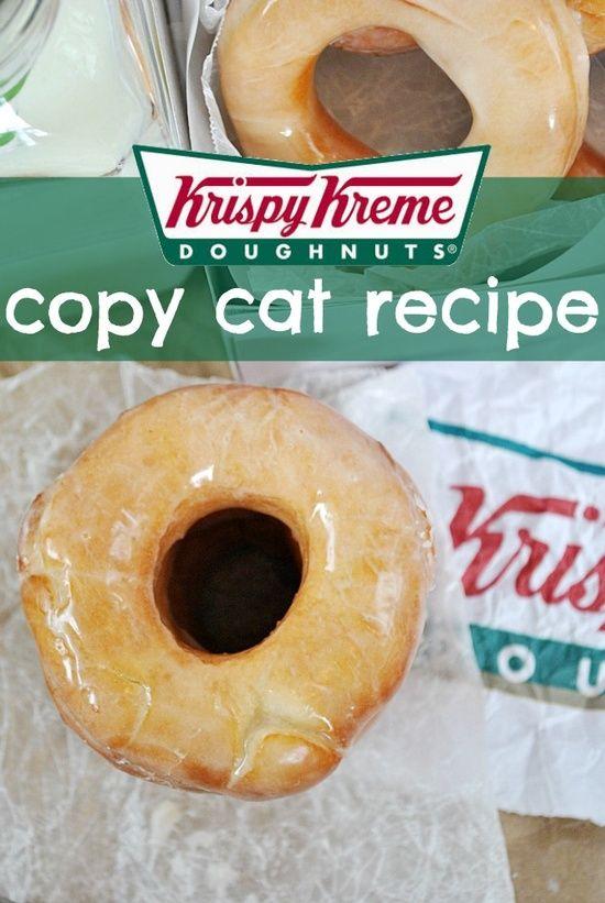 Krispy Kreme Copy Cat Recipe! Where has this been all my life?!