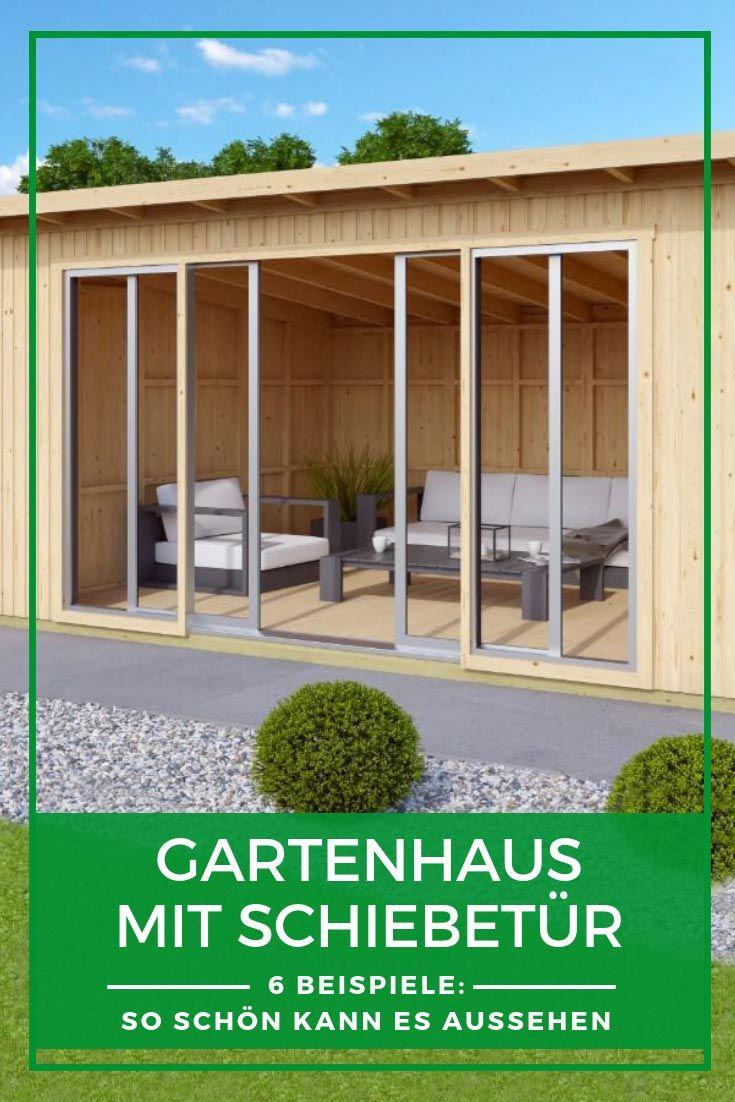 Gartenhaus Schiebetur Die Perfekte Kombination Gartenhaus