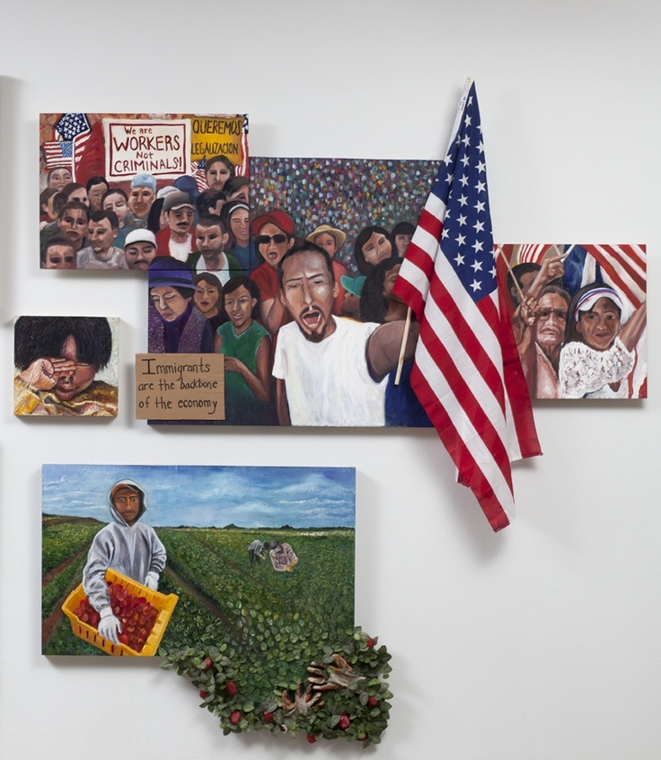 Immigration art