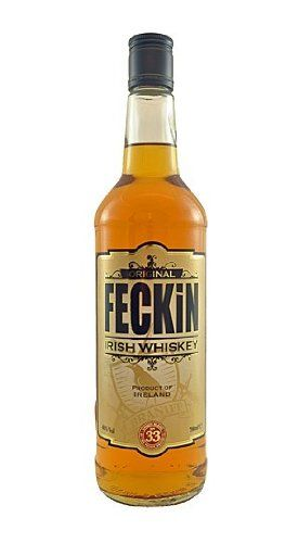 Feckin Irish Whiskey. Gifts for whiskey lovers.