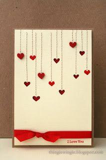 День святого Валентина давно прошел, а мне все неймется! Сделала вот такую открытку для любимого мужа, с применением своих излюбленных при...