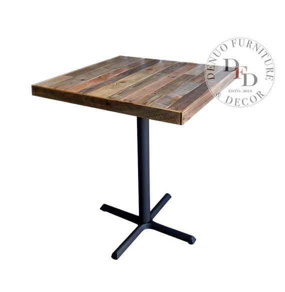 Industrial Dining Table, Console Table, Rustic Table, Breakfast Table, Pallet Bar Table, Reclaimed Wood Bar Table, Patio, Pub, Cafe, Dinning