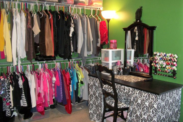 My Spare Bedroom Turned Into Closet Make Up Room Small Bedroom With Closet Pinterest Diy