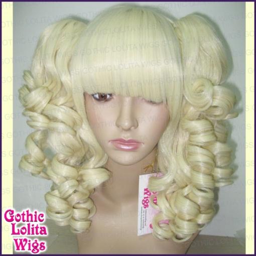 Blonde Pigtail Wig Halloween 83