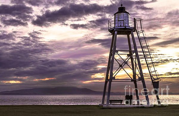Silloth Light Tower on the Solway Firth