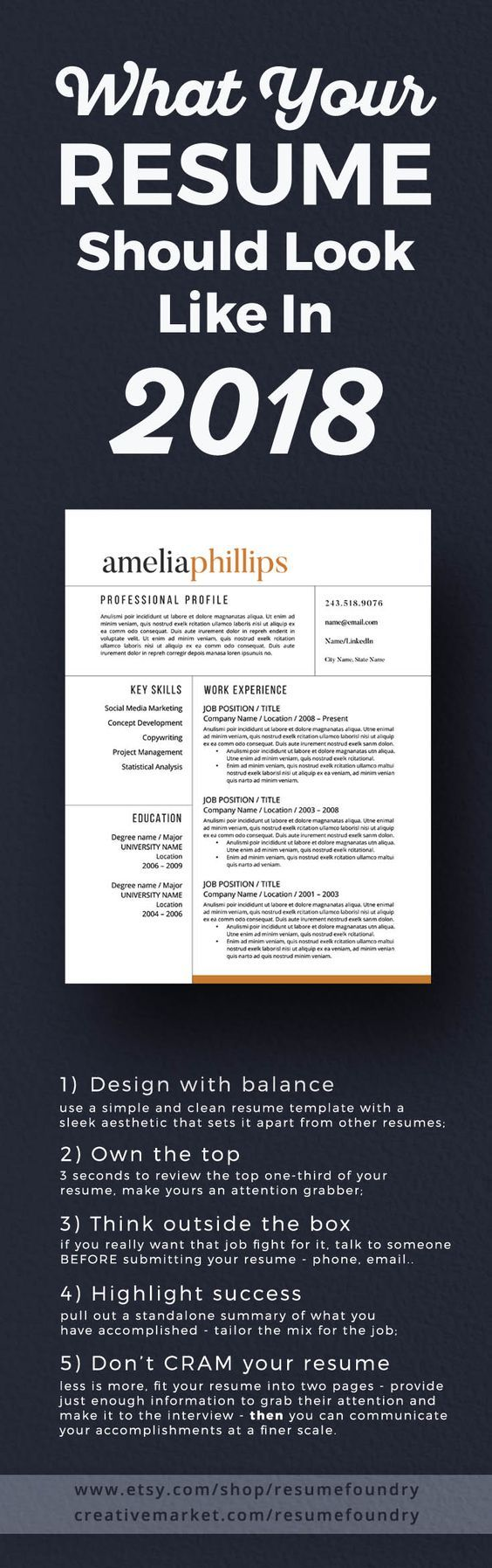How to make a resume. Powerful tips. View now. Resume