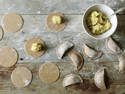 Sour Cream Pierogi Dough
