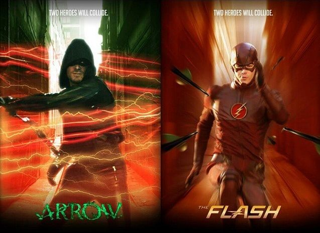 Are you ready? Arrow & The Flash>>The fact that this is happening makes me sooo HAPPY<<<