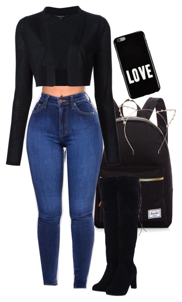 """""""19/11/17"""" by princessnedji on Polyvore featuring Herschel Supply Co., Derek Lam, Givenchy and Cara"""