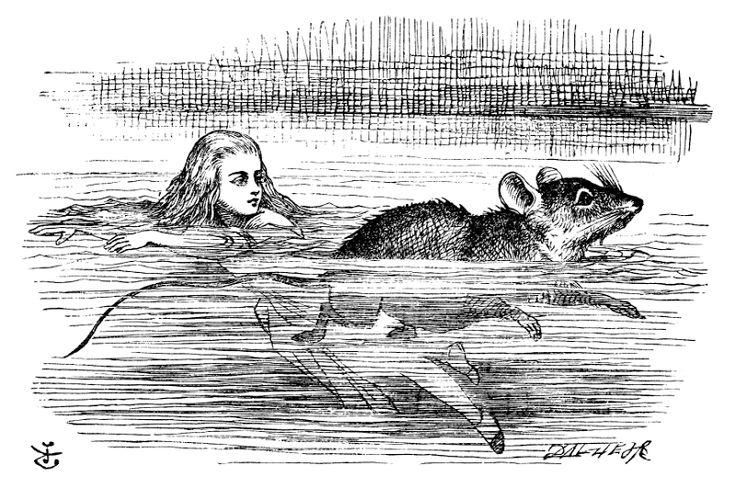 "John Tenniel «Алиса в стране чудес» | ""Картинки и разговоры"""